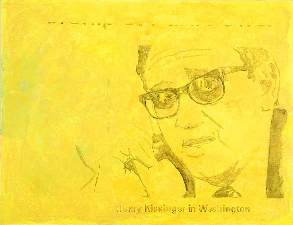 Hannes Priesch, Henry Kissinger_yellow